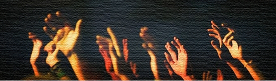 Hands Lifted In Worship